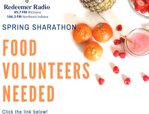 Food Volunteers Needed – Spring Sharathon 2020