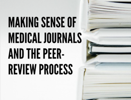 Doctor, Doctor – #161 – Making Sense of Medical Journals and the Peer-Review Process