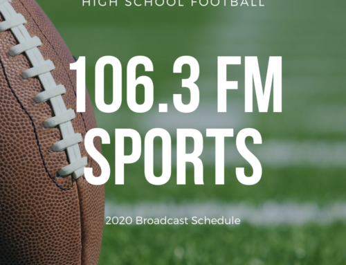 106.3 Sports High School Football Schedule