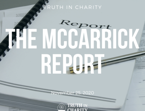 Truth in Charity – The McCarrick Report