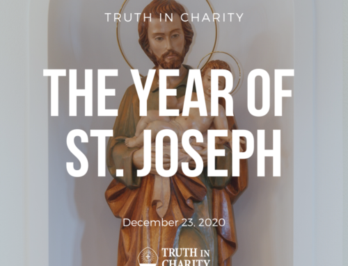 Truth in Charity – The Year of St. Joseph