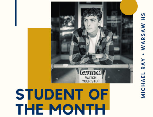Student of the Month – Michael Ray