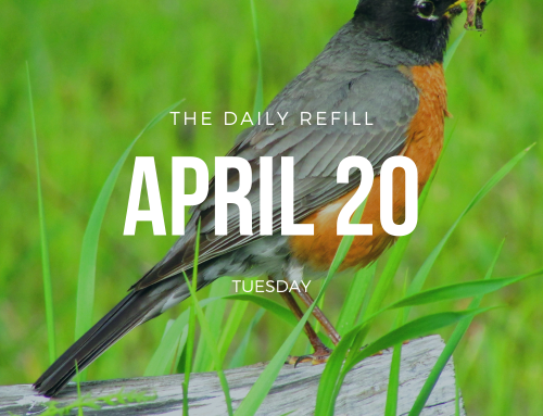 The Daily Refill – April 20, 2021